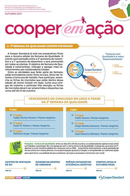 Jornal Cooper Standard